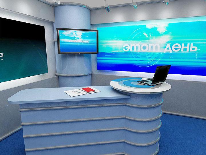 Дизайн телевизионной студия
